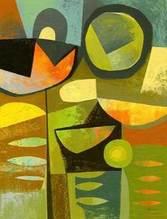 Cubist Garden 1