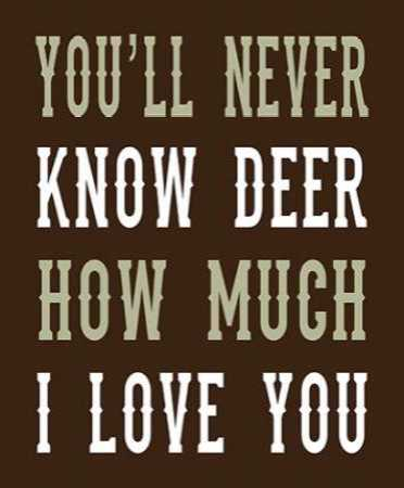 Deer Love Woods