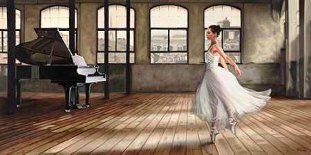 Dim light Ballerina