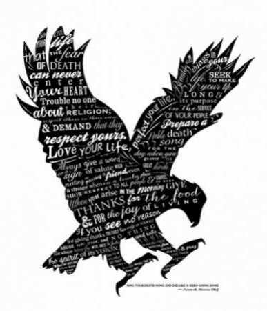Eagle Black & White