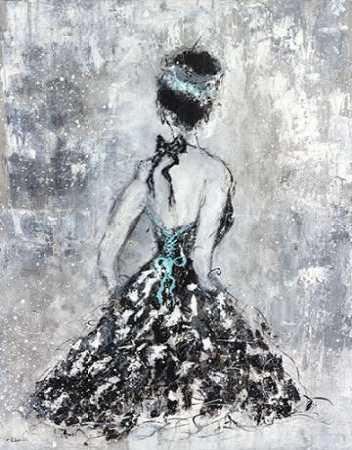 Elegant Booba with Blue Sash