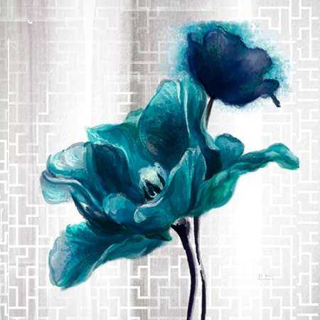 Ethereal Spring Turquoise Tulip