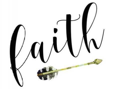 Faith with Arrow