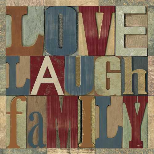 Family Printer Block Sentiments II