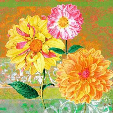 Fancy Flower Trio 1