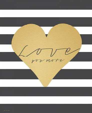 Faux Gold Love You more