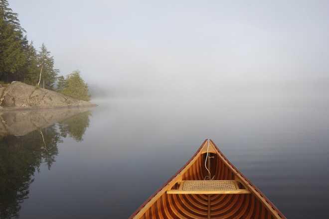 Foggy Paddle