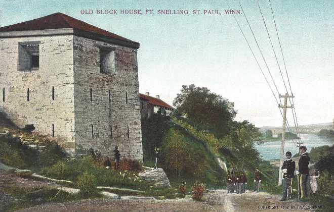 Fort Snelling Block House, St. Paul, MN, 1908