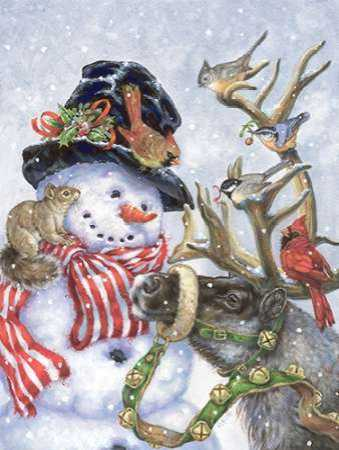 Frosty-Prancer and Friends