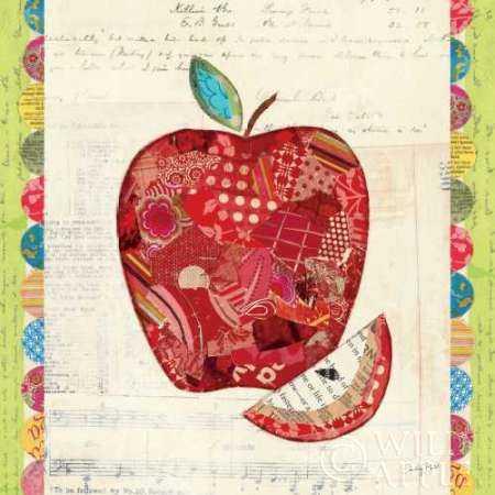 Fruit Collage I - Apple