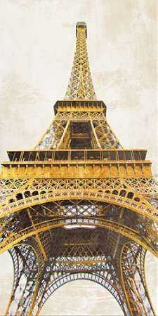 Gilded Eiffel Tower