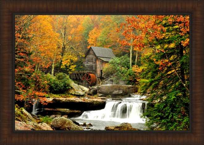 Glades Grist Mill - 30x42
