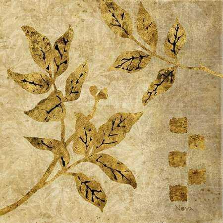 Gold Leaf Branches I
