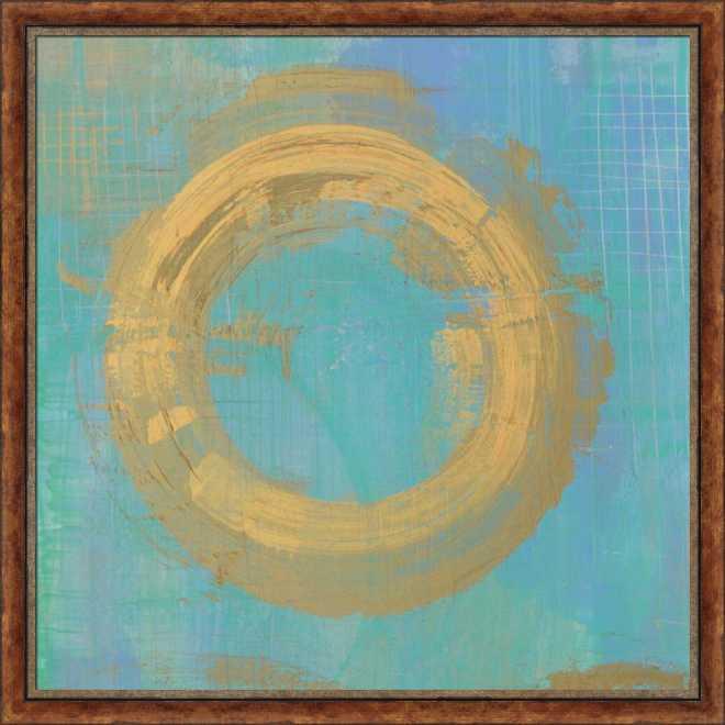 Golden Circles II by Melissa Averinos