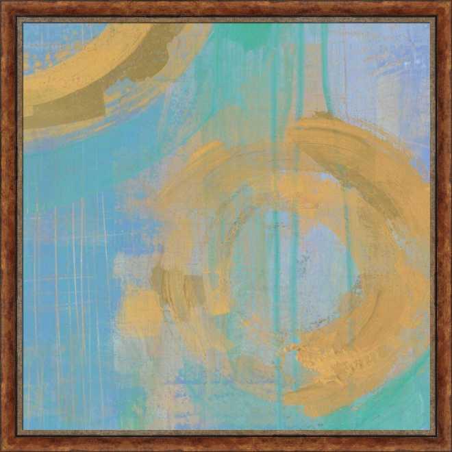 Golden Circles III by Melissa Averinos,