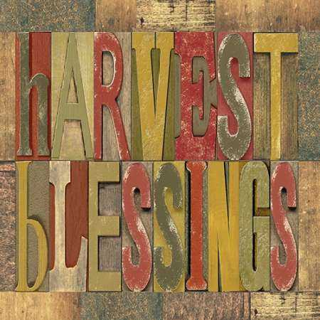 Harvest Blessings Printer Block