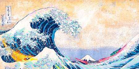 Hokusai''s Wave 2.0 (detail)