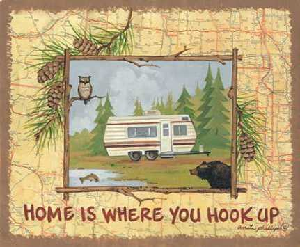 Home is Where You Hook Up