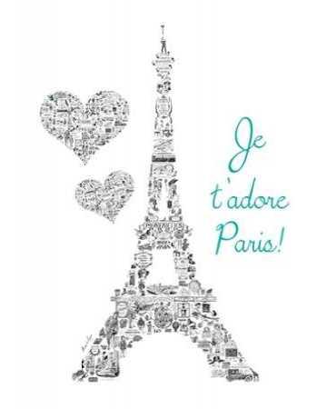 Je t adore Paris Vintage