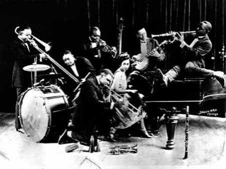 King Olivers Creole Jazz Band 1920s