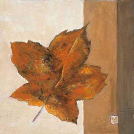 Leaf Impression - Rust