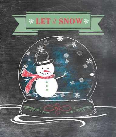 Let It Snow - Green
