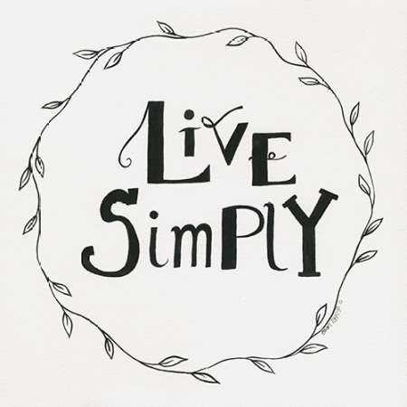 Live Simply Wreath