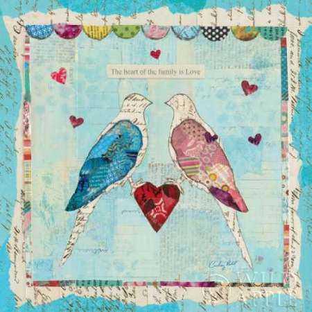 Love Birds Square