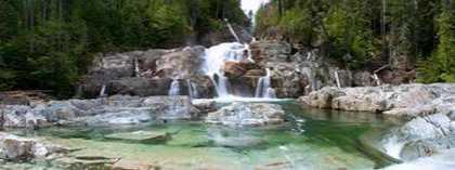 Lower Myra Falls Vancouver Island British Columbia Canada