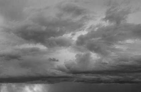 Luminous Clouds II BW