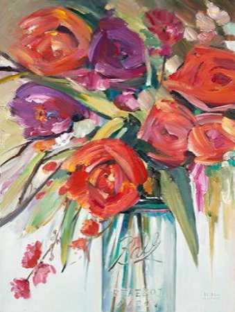 Lush Painterly Bouquet