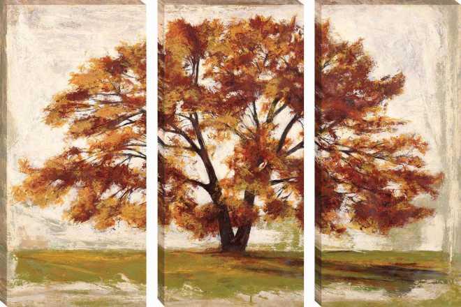 Matino - THREE PIECE SET of Gallery Wrap Canvas', G22x44 ea.