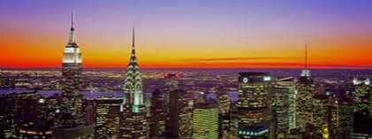 Midtown Manhattan at Sunset NYC