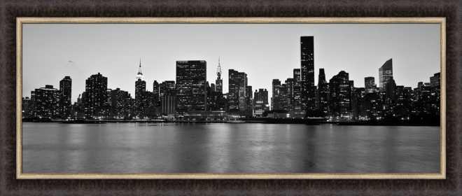 Midtown Manhattan Skyline by Michel Setboun