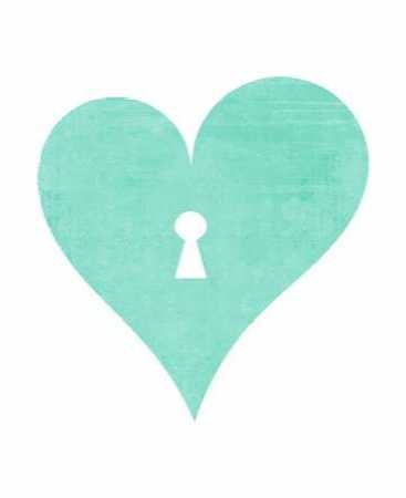 Mint Heart Lock