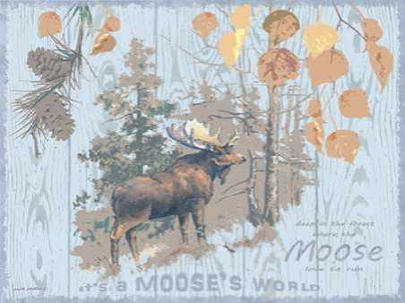 Mooses World Gray