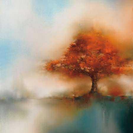 Morning Mist and Maple I