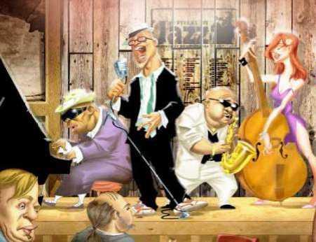 Musicians Jam Session