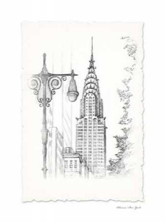 New York Avenue Pen and Ink