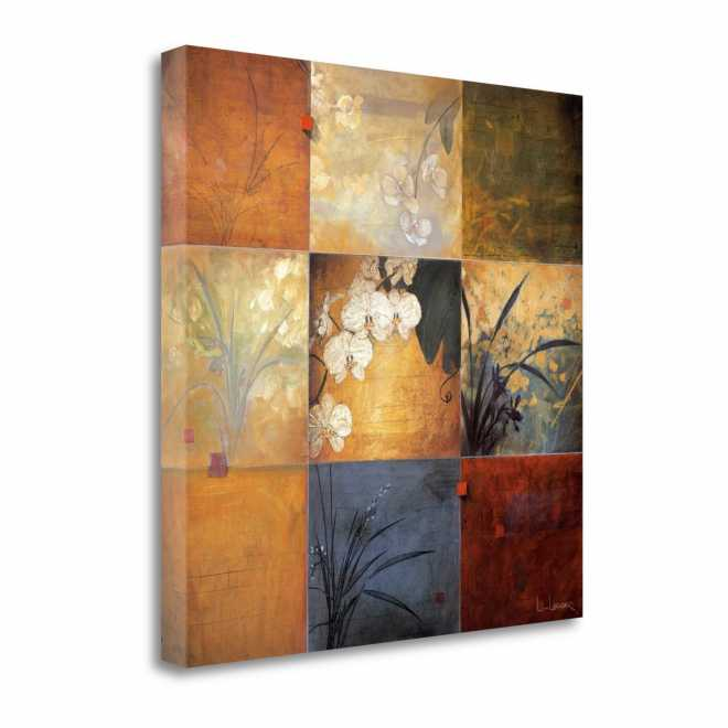 Orchid Nine Patch, Gallery Wrap Canvas, 35x35 - SP0100