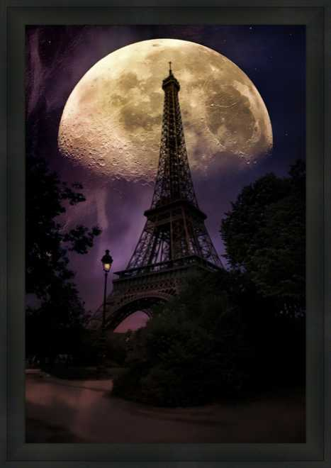 Paris by Moonlight