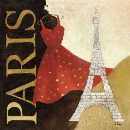 Paris Dress - A Day in the City