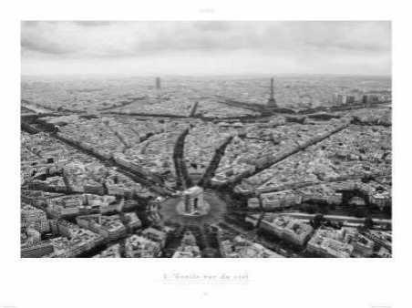 Paris - LEtoile Vue du Ciel
