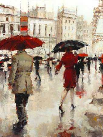 Parting on a Paris Street