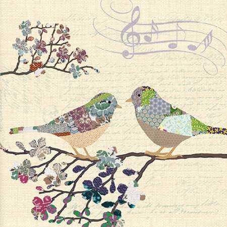 PATCH WORK BIRDS II