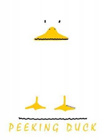 Peeking Duck