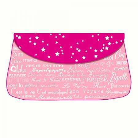 Pink Paris Purse
