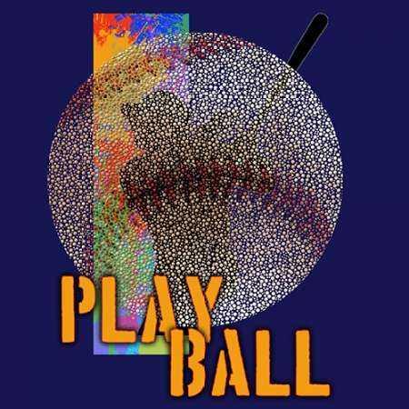 Play Baseball - Blue