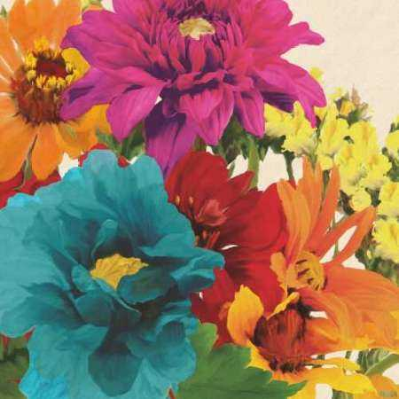 Pop Art Flowers II