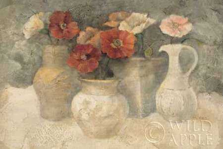 Poppies in White